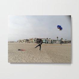 Flying Man Metal Print
