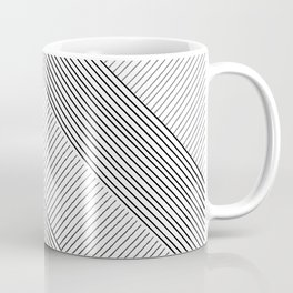 Stripe Geometric Mountain Coffee Mug