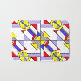 Pop Art Pattern Bath Mat