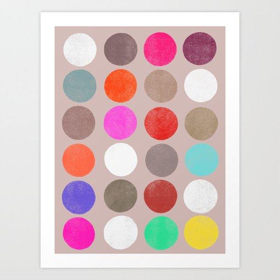 colorplay 2 Art Print
