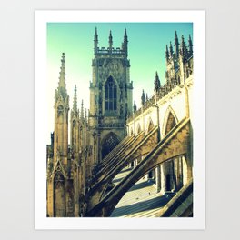 Dwelling in the Shelter Of Art Print