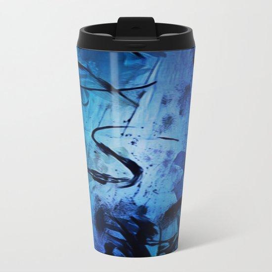 Blue Play Metal Travel Mug
