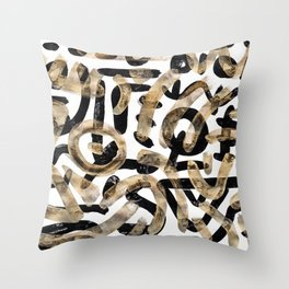Pattern Number 27 Throw Pillow