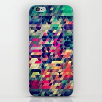 blanket iPhone & iPod Skins featuring Atym by Spires