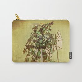Steampunk Ninja Turtles Carry-All Pouch