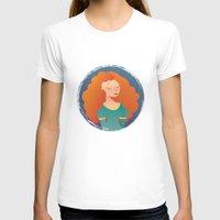merida T-shirts featuring Merida by Chelli Reyes