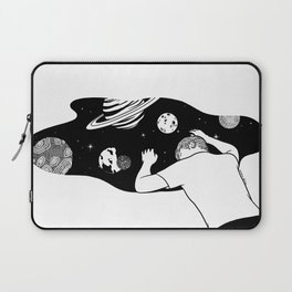 My Universe is Expanding Slowly Laptop Sleeve
