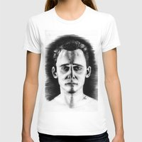 tom hiddleston T-shirts featuring Tom Hiddleston by LilKure