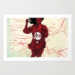 RED Chapter Two - Vanessa Art Print