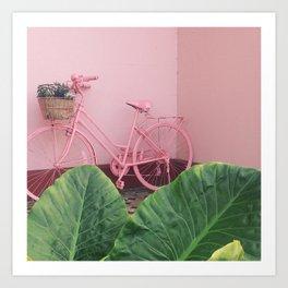 Pastel Bicycle Art Print