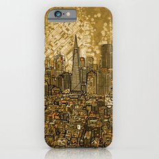 san francisco city skyline iPhone 6 Slim Case