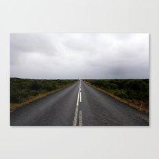 a way down Canvas Print