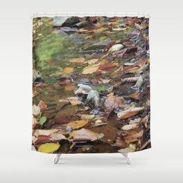 """""""Warm fall day"""" Shower Curtain"""