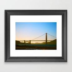 Golden Gate Bridge  Framed Art Print