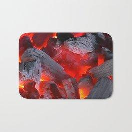 Glowing Coals Bath Mat