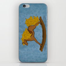 Peta approved racehorse iPhone & iPod Skin