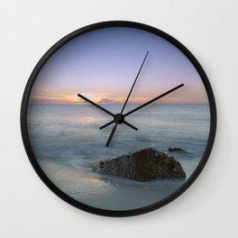 A Calm Sea Wall Clock
