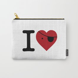 I love pirate love Carry-All Pouch