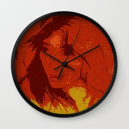 DAUGHTER OF EVE Wall Clock