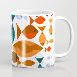 Red Fishes Coffee Mug