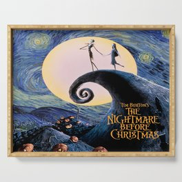 Nightmare Before christmas Serving Tray