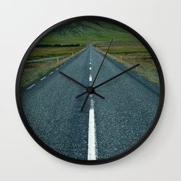 Iceland - N1 Wall Clock