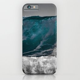 Wave Series Photograph No. 3 iPhone Case