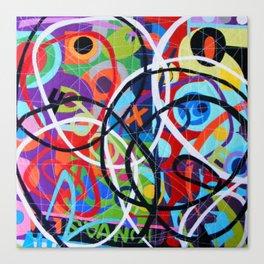 Any Colour U Like 4 Canvas Print