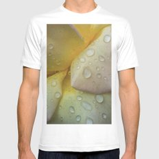 The Beauty of Life MEDIUM White Mens Fitted Tee