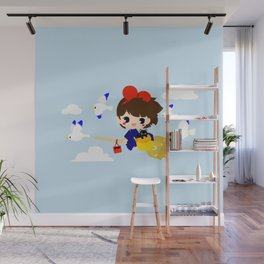 KIKI MEETS GULL Wall Mural