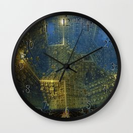 The City Wide and Broad Wall Clock