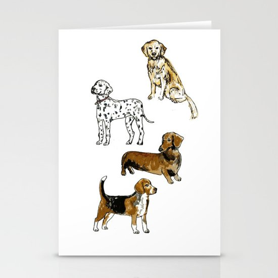DogDogDogDog Stationery Cards
