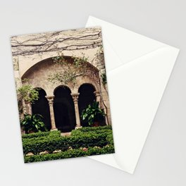 Van Gogh's Courtyard in St Remy Stationery Cards