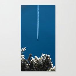 Jetset - Bluest Blue Canvas Print