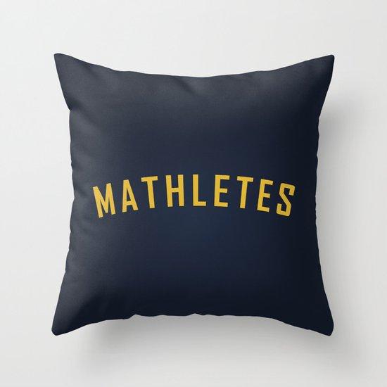 Mathletes - Mean Girls movie Throw Pillow