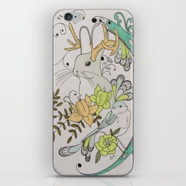 Journey to the Center of Nothing iPhone Skin