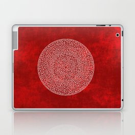THE RED LABYRINTH Laptop & iPad Skin
