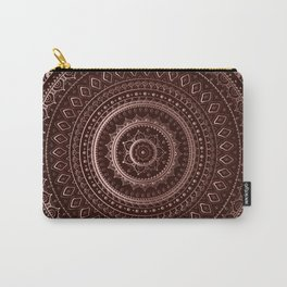 Mandala Copper Carry-All Pouch