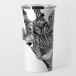 Curious Giraffe Travel Mug