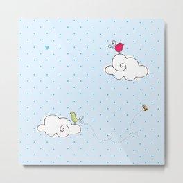 cotton cloud Metal Print