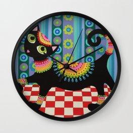 Kool Kitty Wall Clock