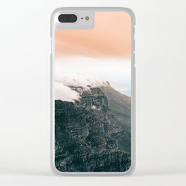 Table Mountain, South Africa Clear iPhone Case