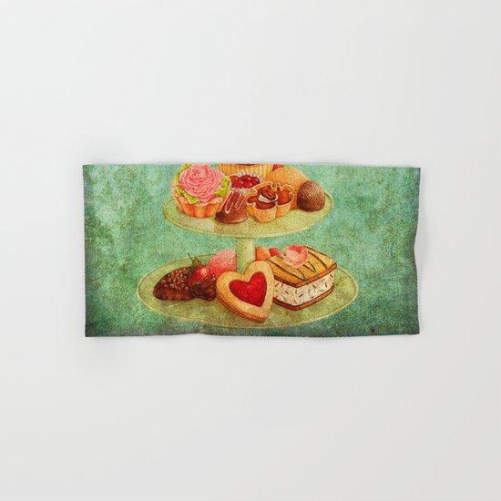 Sweets Vintage Poster 04 Hand & Bath Towel
