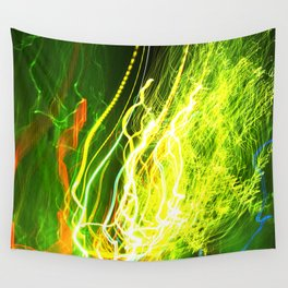 Shaking the Lights Wall Tapestry