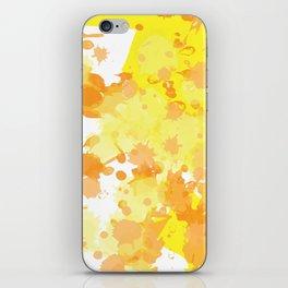 paint drops iPhone Skin