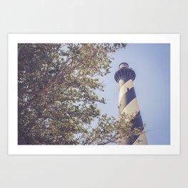 Cape Hatteras Lighthouse (1) Art Print