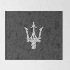Homage to Maserati Throw Blanket