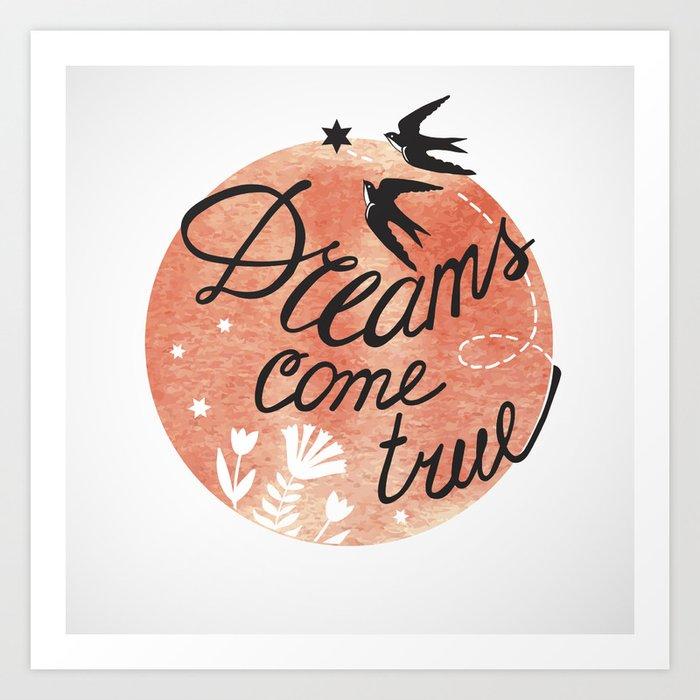 Print Dreams come true for two Art Print