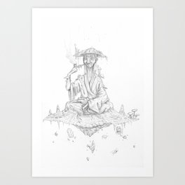 Krentok The Well Spirit Art Print