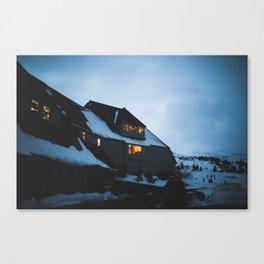 Timberline Lodge Glow Canvas Print